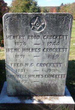 Annabell <i>Holmes</i> Crockett