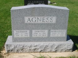 Dorothy Susan <i>Reed</i> Agness