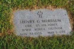 Henry G Bierbaum