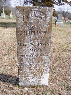 Mary A. <i>Hathaway</i> Brown