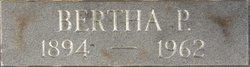 Deacon Bertha Madelia Rebecca <i>Pierce</i> FitzRandolph