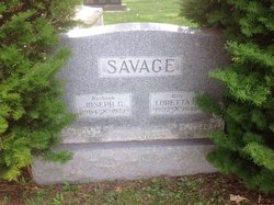 Loretta Elizabeth <i>Seyller</i> Savage