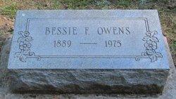 Bessie F. Owens