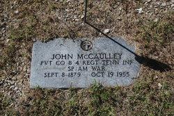 John Henry McCaulley
