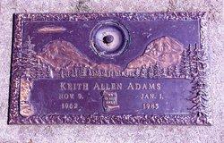 Keith Allen Adams