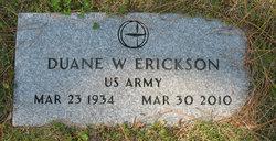 Duane W. Dute Erickson