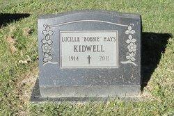 Bobbie <i>Hays</i> Kidwell