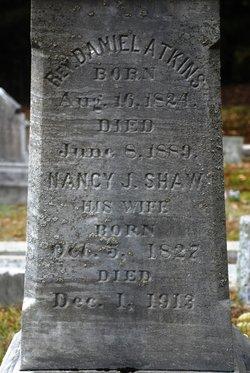 Nancy J. <i>Shaw</i> Atkins