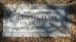 Jeanette Adel Jean <i>Arnebeck</i> Flank