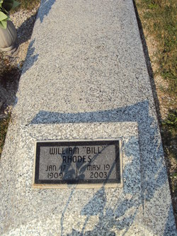 William Amos Bill Rhodes
