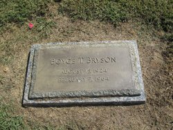 Boyce T Bryson