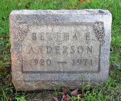 Bertha Ellen <i>Clark</i> Anderson