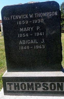 Abigail J Thompson