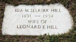 Ida M Selkirk
