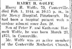 Harry H. Wolfe