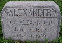 Benjamin Franklin Alexander