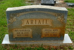 Ira Vandiver Ariail