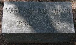 Mary Jane <i>Morrison</i> Adams