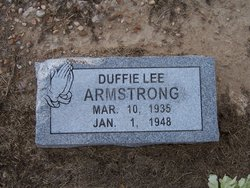 Duffie Lee Armstrong