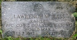 PFC Lawrence Shorty Bass