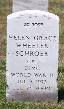 Helen Grace <i>Wheeler</i> Schroer