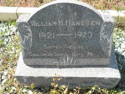 William Wilhelm Herman Edward Hanssen