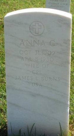 Anna C Burns