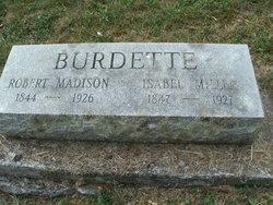 Robert Madison Burdette