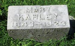 Mary Elizabeth <i>Ilgen</i> Kahley