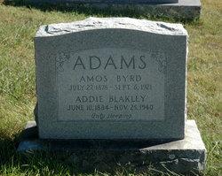 Addie <i>Blakley</i> Adams