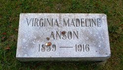 Virginia Madeline <i>Fiegel</i> Anson