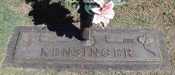 Mary F <i>Clemens</i> Kensinger