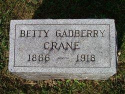 Bettie <i>Gadberry</i> Crane