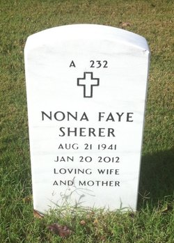 Nona Faye <i>Lancastor</i> Sherer