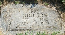 Jerry O Addison
