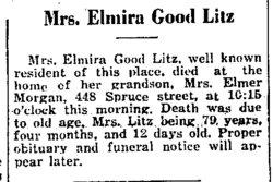 Elmira <i>Milligan</i> Litz