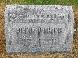 Minnie B. <i>Hopkins</i> Ervine