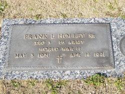Frank L Holley, Sr