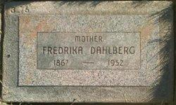 Fredrika <i>Henriksdotter</i> Dahlberg