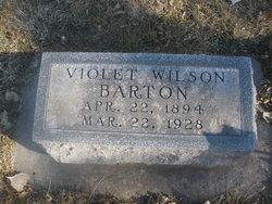 Violet <i>Wilson</i> Barton