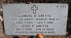 Gabriel R Abeyta