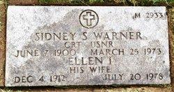 Ellen I Warner