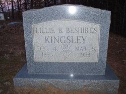 Lillie <i>Beshires</i> Kingsley
