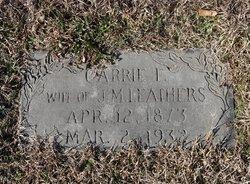 Carrie F <i>Bullock</i> Leathers
