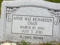 Annie Mae <i>Richardson</i> Chain