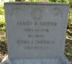 Emma J. <i>Sherman</i> Barden