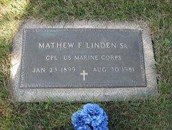 Mathew F. Linden, Sr