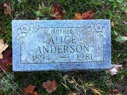 Alice Bertha <i>Caniff</i> Anderson