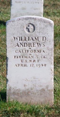 William D Andrews