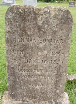 Mannan Bowling